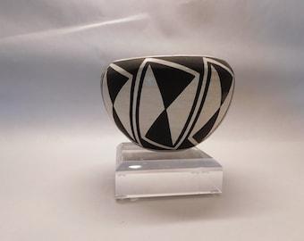 Charming Sarah Garcia Acoma Geometric Pottery Vase