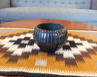 Santa Clara Pottery Mellon Vase Miana Pablito