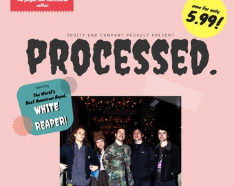 Processed. Zine: Issue 1