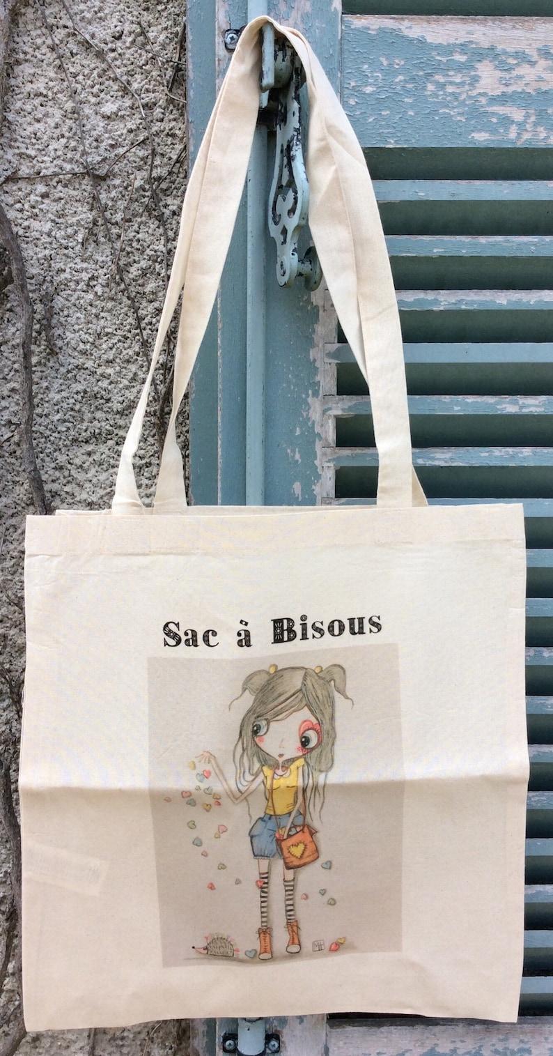 Tote bag Bag \u00e0 Bisous