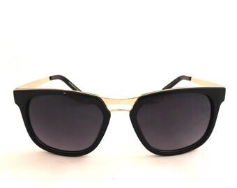 des années 50 style lunettes de soleil, lunettes de soleil unisexes, 90 s  lunettes de soleil, lunettes de soleil Vintage, lunettes de soleil rétros,  ... 778349e73e11