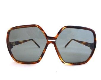 aa456b1237e5ad Lunettes de soleil Vintage des années 70, lunettes de soleil unisexes,  années 80 surdimensionné de lunettes de soleil, lunettes de soleil, ...
