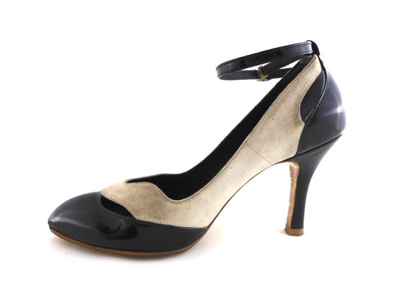 ffcf248b84de Gaspard Yurkievich Pumps Vintage Style Evening Shoes Size