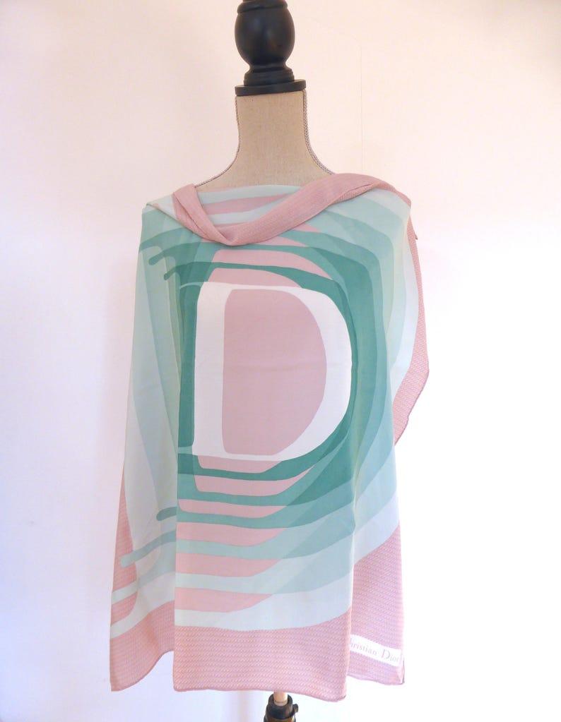 0c3ca4c5b40 Dior Silk Scarf Christian Dior Square Silk Scarf Vintage