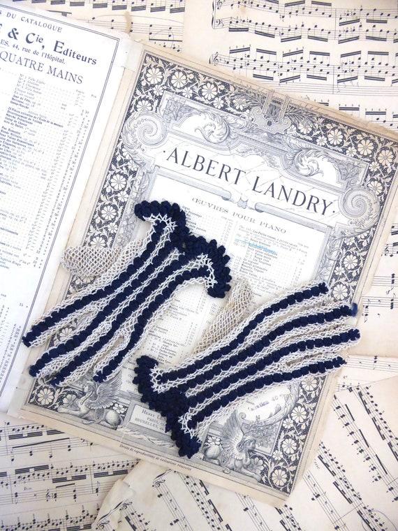 Stunning Vintage Crochet Gloves, 1950s Gloves size