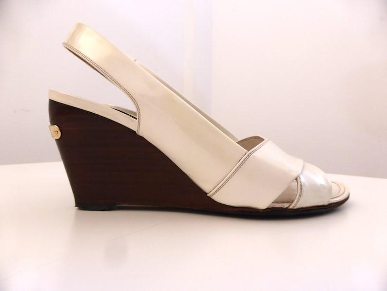 e72d106c1c43 Louis Vuitton Wedge Sandals Louis Vuitton Vintage Wedge