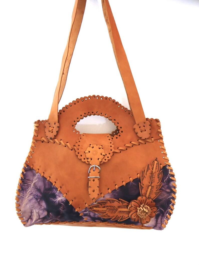 Vintage 70s Shoulder Bag Statement Bag 70s Bag Vintage  ca5d99d679d58