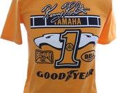 Kenny Roberts Yamaha Retro Logo Classic 80 39 s Design T-shirt Tee