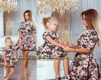8f8cdc05d Mother and Daughter Matching Outfits, SET OF TWO dresses