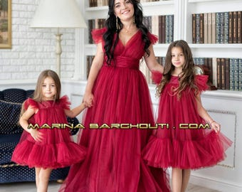 Mother Daughter Matching Dresses Set Of 2 Perfect For Special Events And Photoshoots Weddingbirthday Party Other Occasions