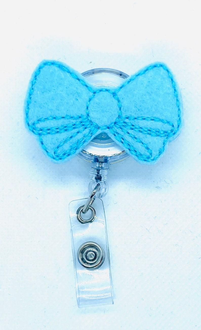 nurse badge reel and stethoscope tag set,