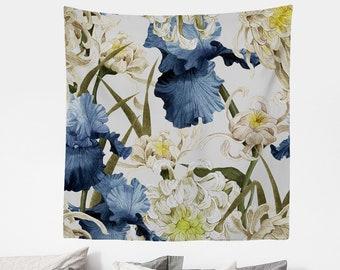 Colorful Decals Vinyl Print Blooming Art Eco Friendly #9 Poppy And Powder Flowers Vinyl Set Greenery Vinyl Decal