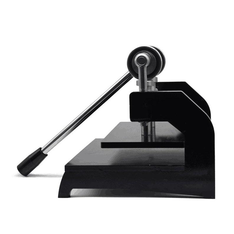 Large Die Cutting Machine Manual Leather Cutting Press Machine For ...