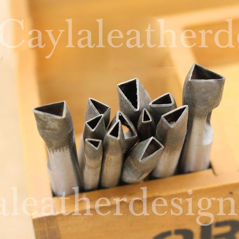 3mm-25mm  triangle   hole puncher,leather crafts leather tool Hole Maker for Leather Crafts