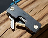 Aircraft Aluminium Key Organizer Multi Functional Keychain Corporate Gifts for Men Luxury Key Holder (Brass Screws)