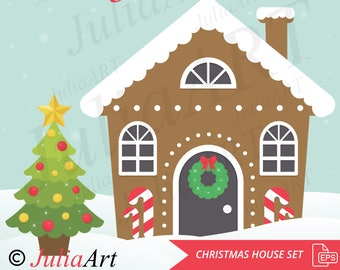 christmas house set