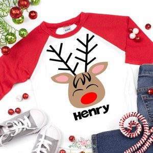 cute kids Christmas toddler Christmas shirt girls Christmas shirt   Sparkly Bows and Mistletoe girls Christmas shirt