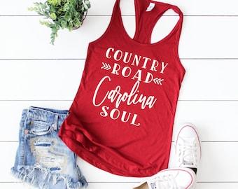 8ec2c903ea8d Country Road Carolina Soul tank