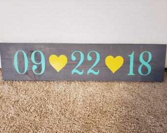 Wedding Save The Date Sign