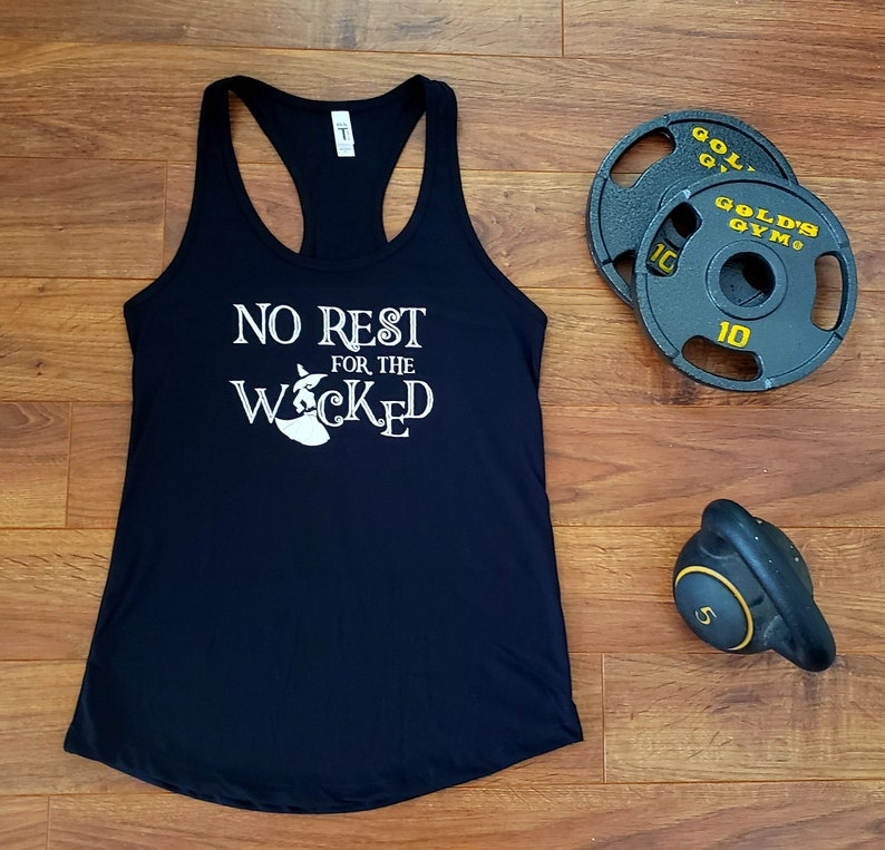 Women's Black No Rest for the Wicked  image 0