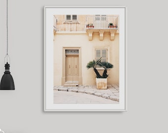 Pastel Travel Wall Art Spanish Decor Beige Print Artwork Prints Digital Download