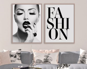 a7e1f51f340 Fashion wall art set
