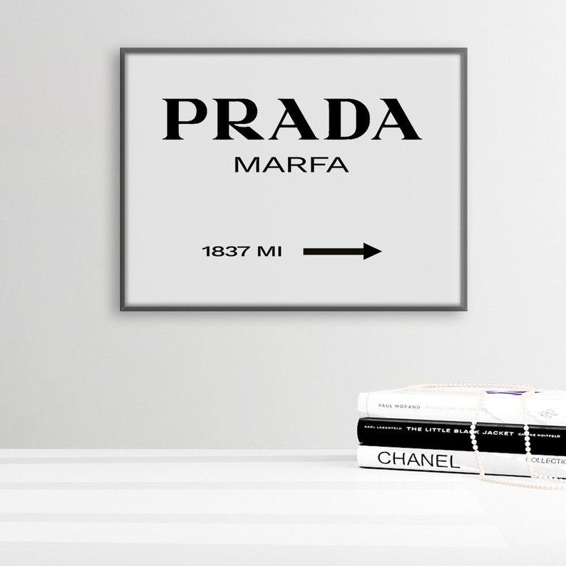61e6e777bfcb9 Prada Marfa Print, Texas Prada Wall Art, Prada Decor, Modern Scandinavian  Decor, Fashion Print, Prada Store Poster, Prada Marfa Printable