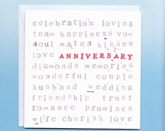 Anniversary Card for him or her or them!