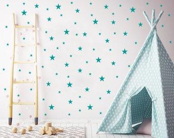 Stars Wall Decals Nursery / Nursery Wall Decal. Star Wall Decal. Star Wall Stickers. Wall Vinyl Sticker Nursery. Baby Room Decor Art F10