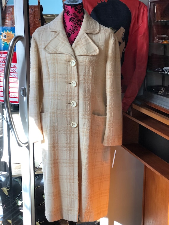 Vintage sixties wool coat
