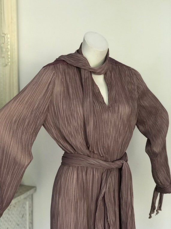 Vintage seventies Prue Acton designer dress - image 5