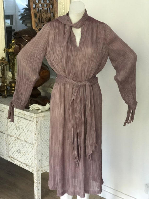 Vintage seventies Prue Acton designer dress - image 1