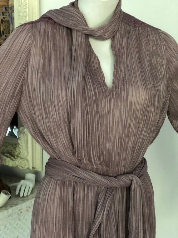 Vintage seventies Prue Acton designer dress - image 2
