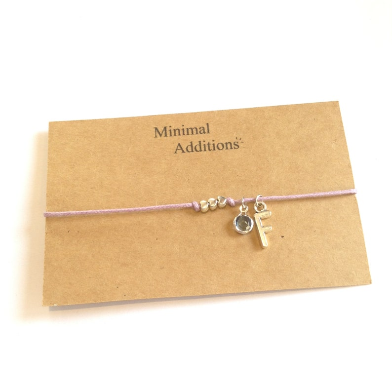 Initial silver tone charm to add on to your order from our store ADD ON ONLY