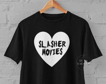 Slasher Movies T-Shirt | Horror Gifts UK
