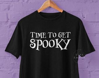 Time To Get Spooky T-Shirt | Halloween Queen Tee