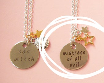 Mistress Of All Evil Necklace | Witch Necklace, Halloween Jewelry, Gifts For Witches, Gifts For Goths, Fairytale Jewelry