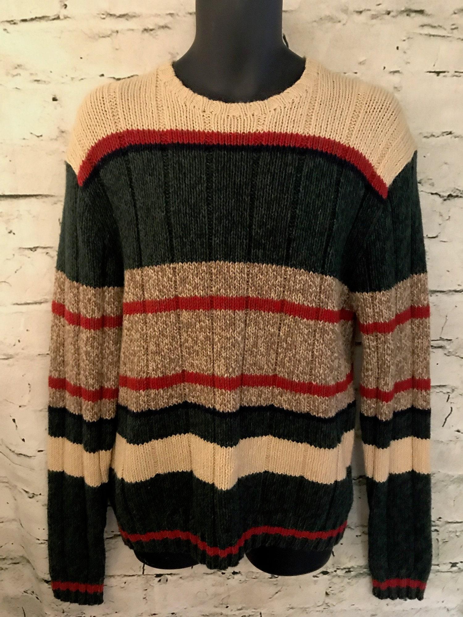 a8b323ca Vintage Polo Ralph Lauren Cotton Wool Linen & Silk Striped | Etsy