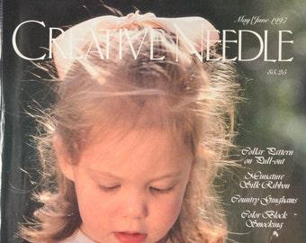2 Creative Needle Magazines - May/June 1997 & 1998