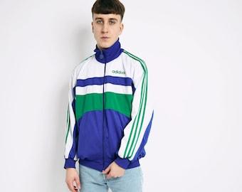 zip up jacket Size M jacket jacket with pockets vintage sportswear peach sportswear retro sustainable fashion peach sports jacket