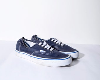 VANS blue low trainers for women  66d10a46aa