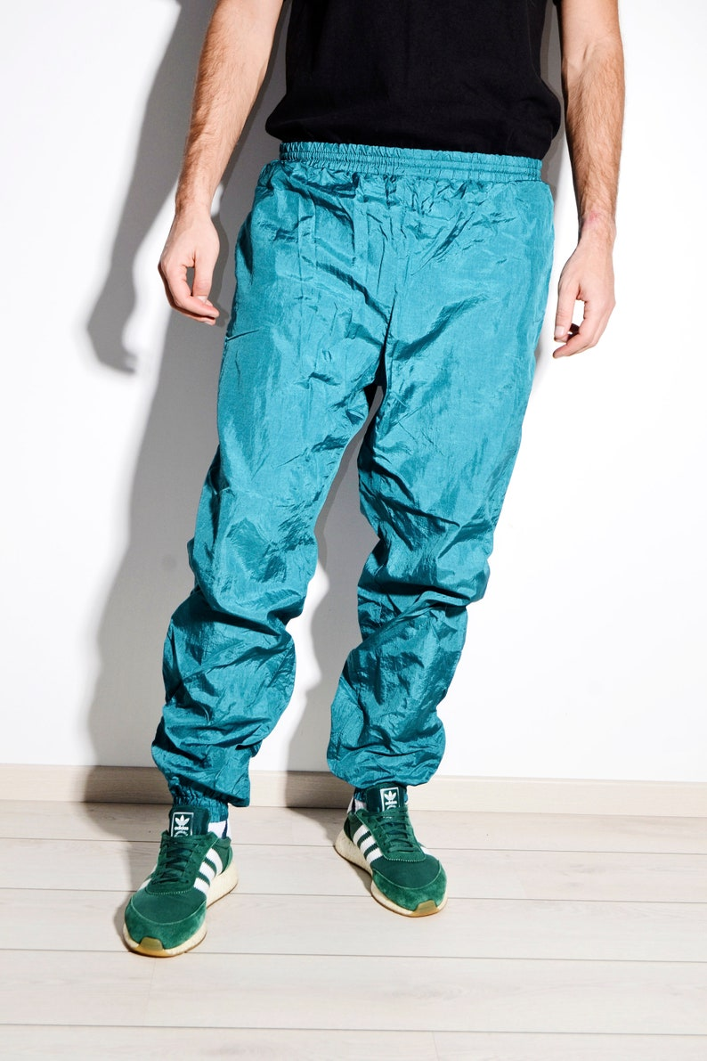 23b7836782a4 Vintage shell sport pants 90's 80's very light and   Etsy