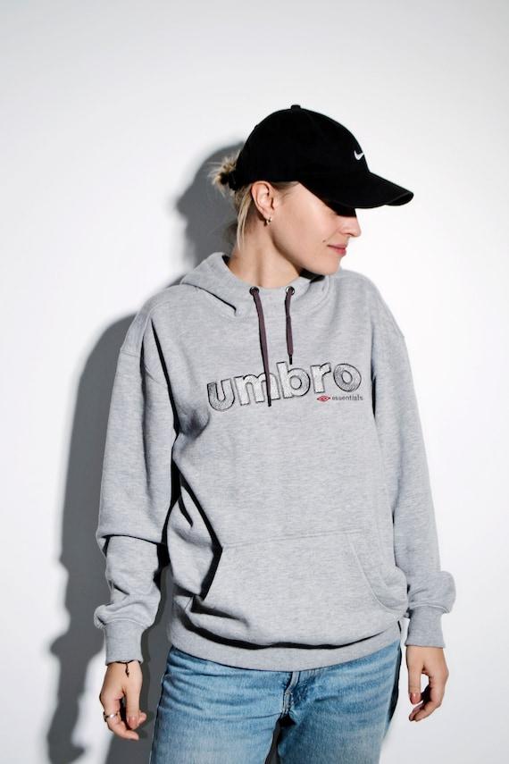 UMBRO gray hoodie unisex | Warm cozy sweater hoode