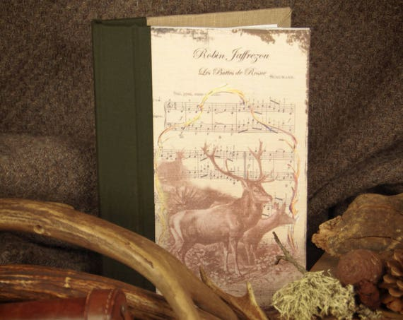 "Deer hunting custom ""Deer and her deer"" notebook Huntress Hunter hunting hunting hunting wood"