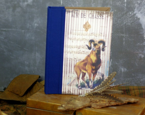 "Personalized ""ibex"" hunting book Huntress Hunter hunting wood hunting hunting Christmas gift"