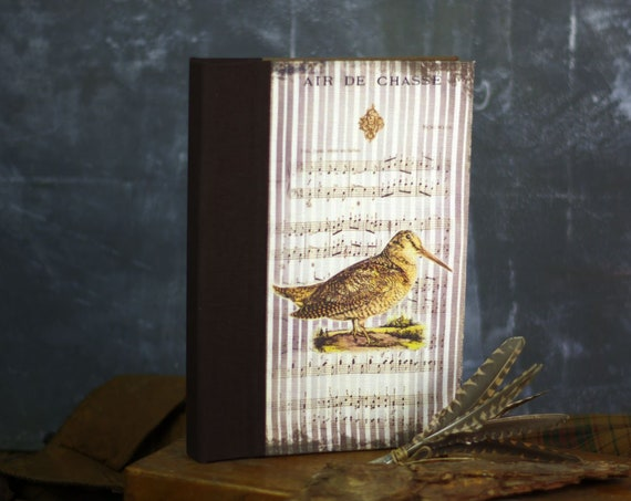 Book of hunting Woodcock game bird red bird shotgun hunting small game Woodcock gift Saint Hubert