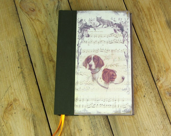 "Treasure hunt ""hunting dog"" hunting journal notebook Huntress Hunter hunting hunting hunting wood Bloodhound gift"