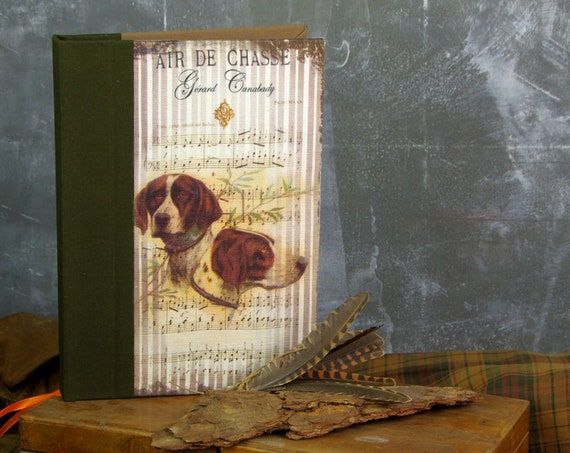 "Treasure hunt ""hunting dog"" hunting journal notebook Huntress Hunter hunting hunting hunting gift wood Saint Hubert"