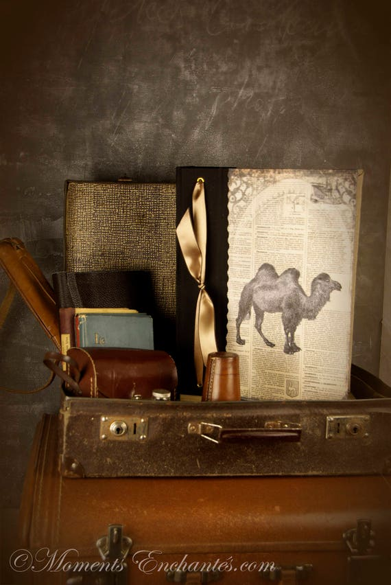 Photo album hunts souvenirs outings hunting great hunting Africa travel diary gift