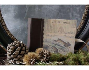 Chasse lapin lièvre Album photo chasse pêche gibier cadeau chasseur chasseresse  intérieur papier